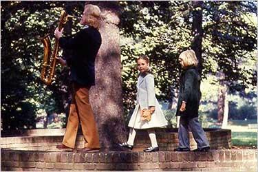 Gerry with Children